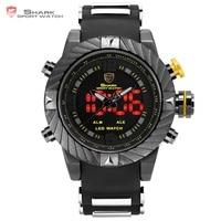 Brand Shark Bazel New Designer Men Wristwatch Sport Relogio Digital Waterproof Wrap Silicone Strap Fashion Casual