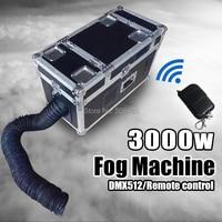 3000W Water Fog Machine small size Water Smoke With DMX Remote Control Low Lying Water Fog Smoke Machine Stage Effect