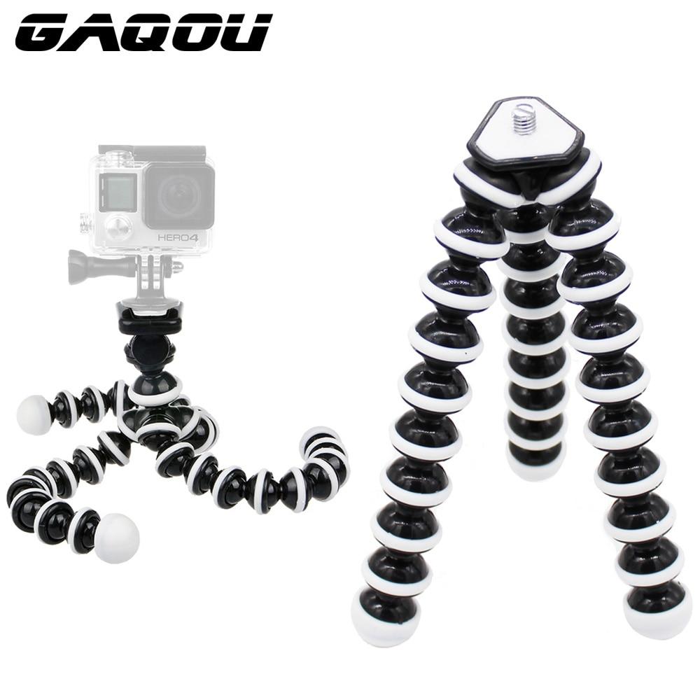 GAQOU M L Größe Flexible Stativ Mini Gorillapod Einbeinstativ Octopus Stative für Gopro Digitalkamera Canon Nikon Handy