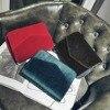 Fashion Women Evening Shoulder Bag Bridal Clutch Chain Velvet Silk Bottom Handbag Elegant Party Bags Wedding Lady Messenger Bag 1