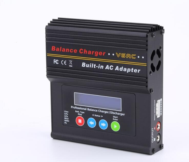 EV PEAK promotional V6AC rc Lipo balance battery charger AC DC caricabatteria rc muticopter airplane Free