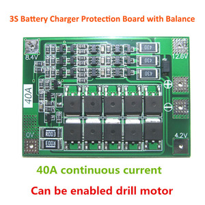 1S/2S/3S/4S/5S Li-ion Lithium Battery 18650 Charger PCB BMS Protection Board Lipo Cell Module with Balancer(China)