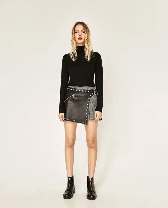Compare Prices on Girls Leather Skirt with Belt- Online Shopping ...