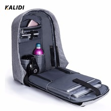 KALIDI Waterproof Laptop Backpack 15.6-17.3 inch Anti theft Backpack USB Charger 17 Inch Multifunction Backpack Travel Men Women