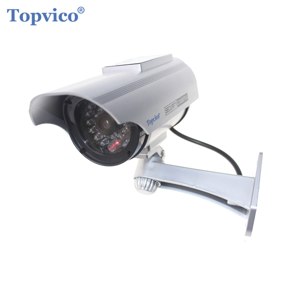 Security & Protection Surveillance Cameras Latest Collection Of Topvico Fake Camera Aa Battery For Flash Blinking Led Dummy House Safety Home Security Camera Dome Surveillance Cctv Camera Reputation First