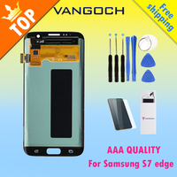 Original Super Amoled Lcd Screen For Samsung Galaxy S7 Edge Display G935F G935FD Assembly Replacement With