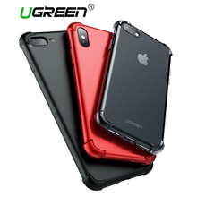 Ugreen Case For iPhone 7 X 8 Shock-proof Case For iPhone 8 Plus 7Plus Case Soft TPU Back Cover For iPhone X Anti-drop Phone Case