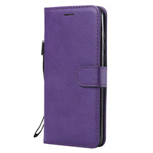 For Huawei NOVA 4 Case Flip Cover Wallet Stand Pure Color PU Leather Mobile Phone Bags Coque Fundas