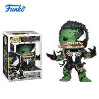 1pcs Marvel Venomized Hulk Theme FUNKO POP! Boy Girl Friend Birthday Party Vinyl Doll Gift Wedding Gift Vinyl Action&Toy Figures