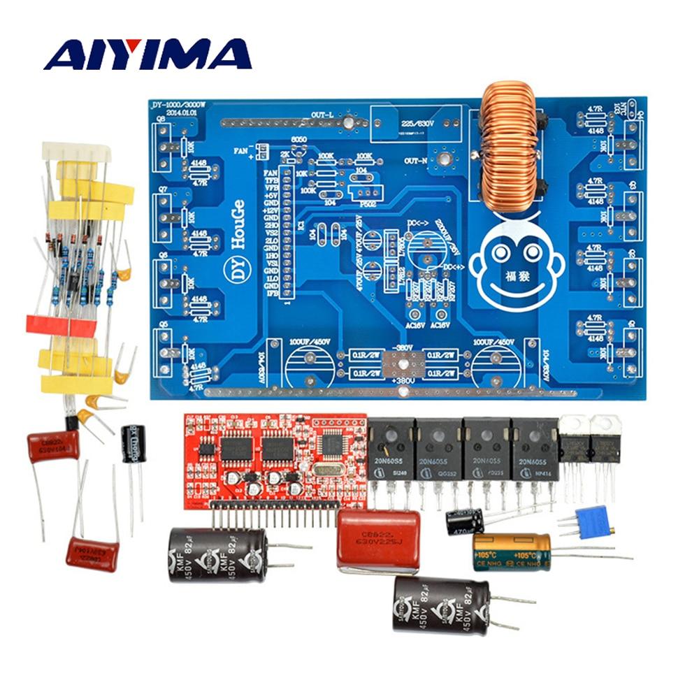 Aiyima1 Set 1000W Pure Sine Wave Inverter Power Board Post Sine Wave Amplifier Board DIY Kits цены онлайн