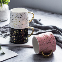 Glittering Shockproof Eco-Friendly Ceramic Coffee Mug