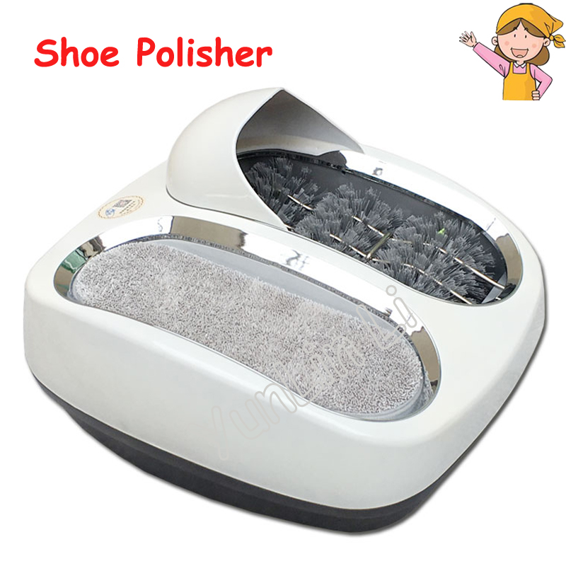 Automatic Shoe Polishing Equipment Sole Cleaning Machine for Living Room or Office Model 412412 intelligent sole shoe polisher shoe cleaning machine household automatic shoe cleaner