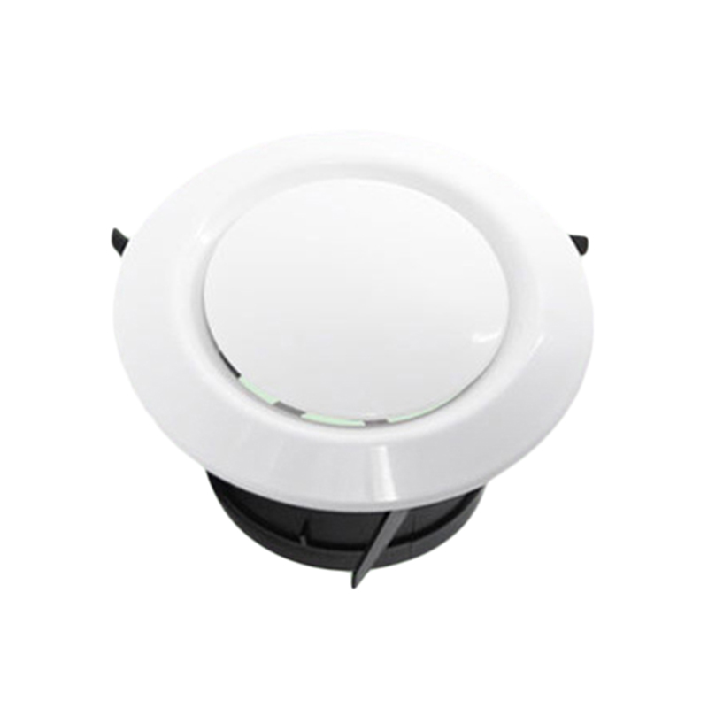 ABS Air Vent Extract Valve Grille Round Diffuser Ducting Ventilation Cover 75mm/100mm Air Vent Ventilator Adjustable Air Volume