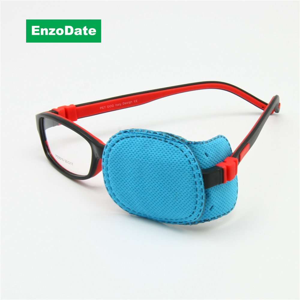 Children Amblyopia Eye Patches 6pcs For Glasses, Kids Astigmatism Strabismus Lazy Eye Patch Boys Girls Vision Train