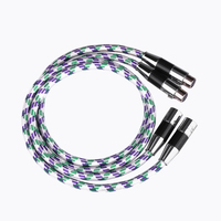 XLR Balance Cable Male To Female XLR Extension Audio Cable For Audio Mixing Console Speaker Microphone