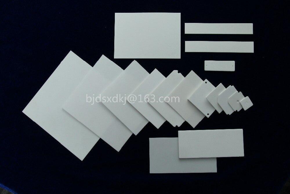 96% Alumina Ceramic Plate,Ceramic Plate, Alumina Ceramic substrates 160*80*1.096% Alumina Ceramic Plate,Ceramic Plate, Alumina Ceramic substrates 160*80*1.0