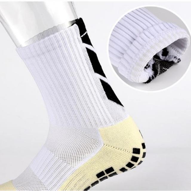 Men Women Sports Sock Football Socks Basketball Sports Anti Slip Socks 6 Colors New Unisex Anti Slip Soccer Running Absorb Sweat