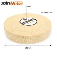1PCS 10'' 250mm Nylon Fiber Abrasive Wheel Polishing Grinding Buffing Abrasive Disc Buffer Pad 18mm Hole 5P