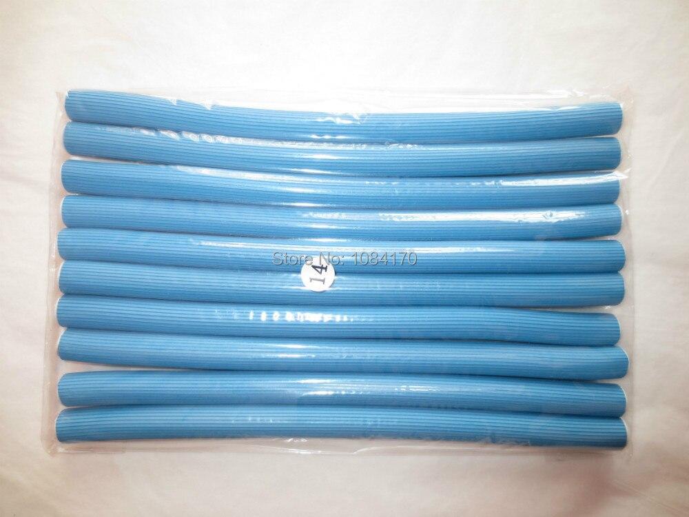 10PCS/Lot  Diameter 1.4cm Blue Hair Curler Quality...