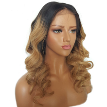 Lace Front Human Hair Wigs Ombre Blonde Wig Human Lace Front Wig Black Women Bleached Knots With Baby Hair Remy 130%