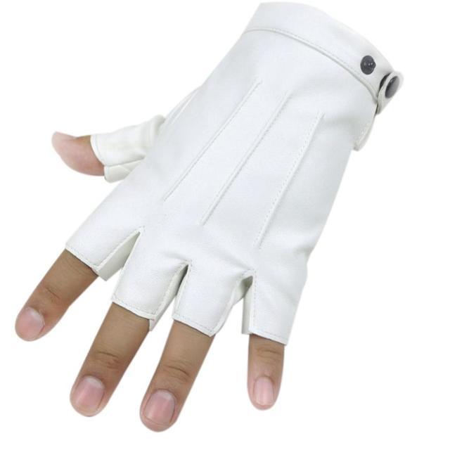 Half Finger PU Leather...