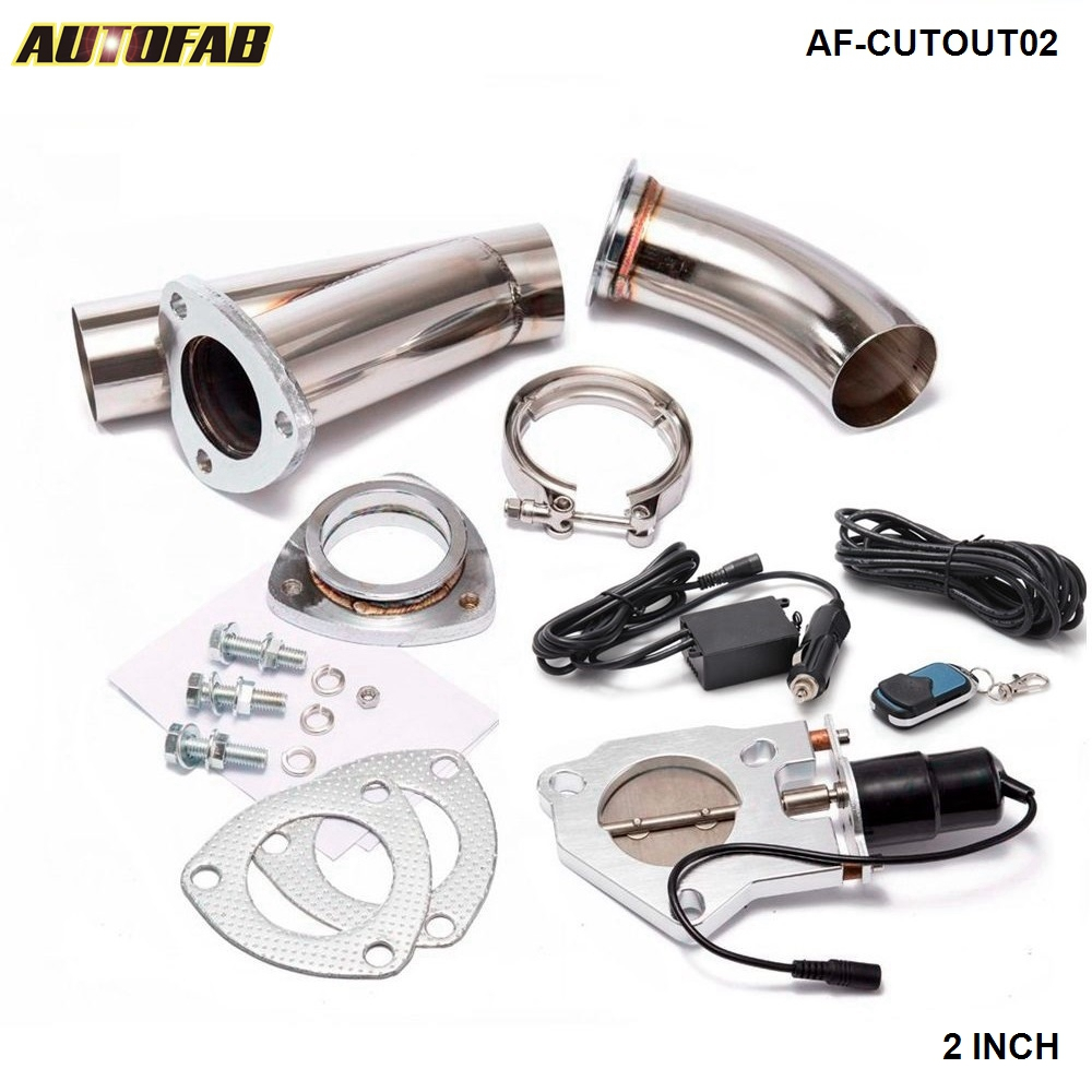 2 Electric Cutoutecut Out Valve Systemremote For Exhaust Catback: 92 Accord Exhaust System At Woreks.co