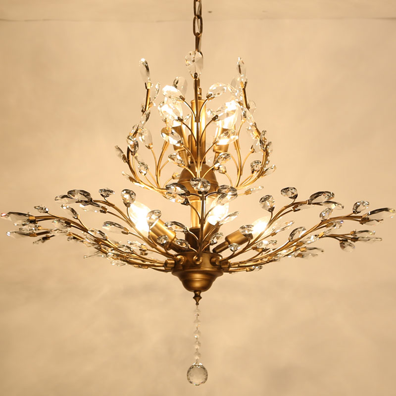 Modern Crystal Chandelier Lighting For Bedroom Kitchen Branches Style Ceiling Re Avize Blc057 In Chandeliers From Lights