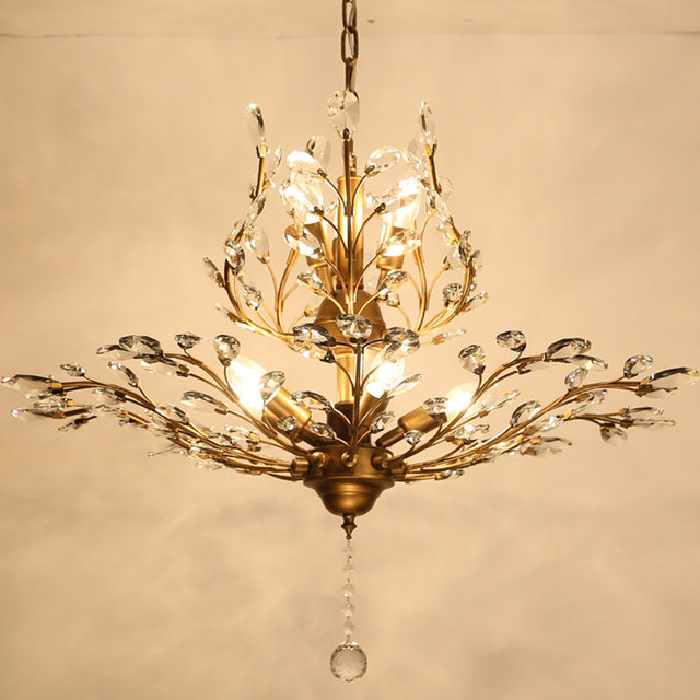 Moderne Kristall Kronleuchter Beleuchtung Für Schlafzimmer Küche  Kristallzweigen Stil Decke Kronleuchter Lustre Licht