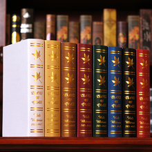 10PC book European simulation   Book Photography study bookcase props simulation  Fake Book mode  box 0513 decoration