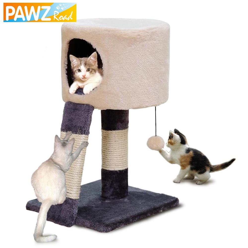 H52CM gato rascarse madera escalada gato de la casa árbol salto de ...