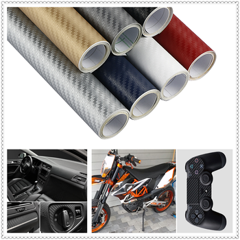 30x127cm 3D 5D CAR Carbon Fiber Wrap Film sticker and Decal FOR BMW 335is Scooter Gran 760Li 320d 135i E60 E36 F30 F30 image