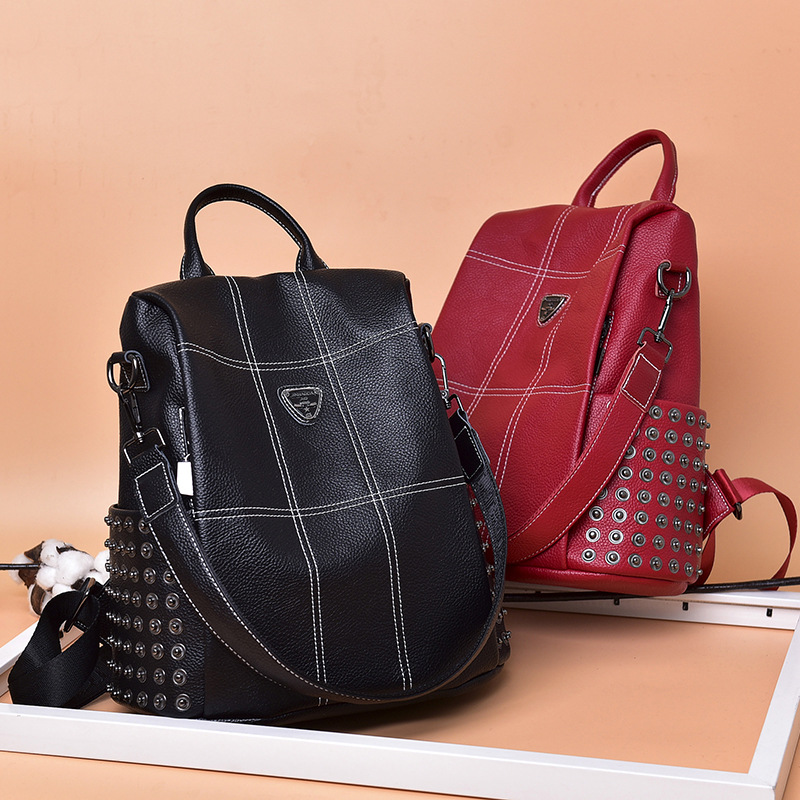 100% Genuine Leather Fashion Women Backpack High Quality Youth Backpacks for Teenage Girls Female School Shoulder Bag100% Genuine Leather Fashion Women Backpack High Quality Youth Backpacks for Teenage Girls Female School Shoulder Bag