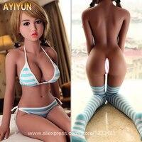 AYIYUN High Quality Sex Dolls for Men Masturbator Realistic Silicone Love Doll Metal Skeleton Big Breast Vagina Pussy Adult Sexy