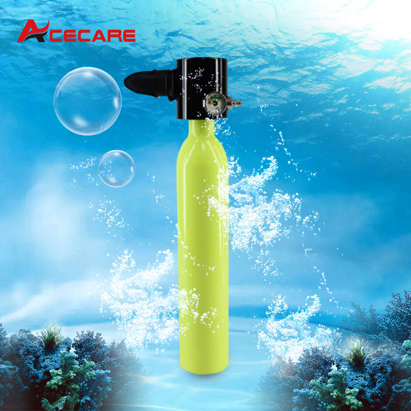 AC804045 Acecare Mini Cylindre pour la Plongée La Liberté Souffle MARINE Arpon du Matériel pour la Plongée Sous-Marine Chasse Arme 0.5L 200bar