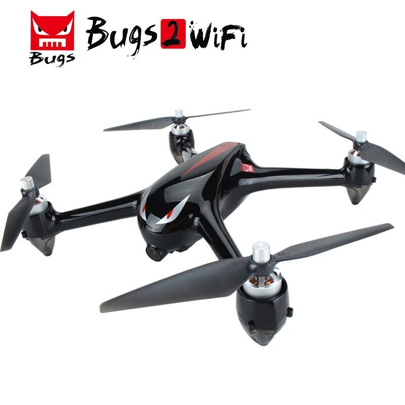 MJX Bugs 2 B2W Brushless Drone con il GPS RC Quadcopter con 5G WIFI FPV 1080 P HD Macchina Fotografica di Mantenimento di Quota Senza Testa RC Elicottero Dron
