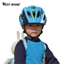 WEST BIKING Kids Bike Helmet Ultralight Children's Safety Bicycle Helmet Cycling Helmet Child Ciclismo Bike Equipment Helmet