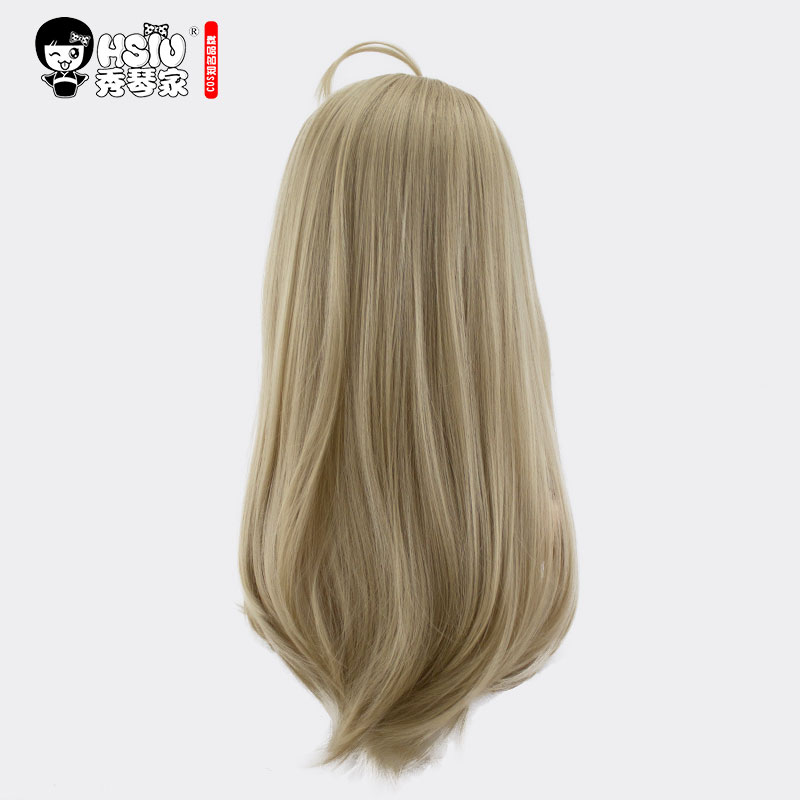 Image 3 - HSIU Kaede Akamatsu Cosplay Wig New Danganronpa V3 Costume Play Wigs Halloween Costumes Hair free shipping NEW High quality-in Anime Costumes from Novelty & Special Use