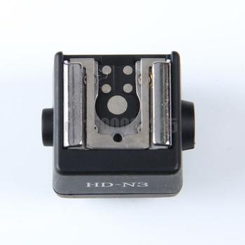 Adaptador de zapata de luz de Flash de cámara, para Canon, Nikon,...