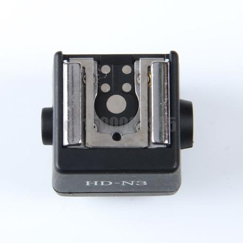 Luz do flash da câmera tomada adaptador de sapata quente para canon nikon yongnuo flash para sony alpha a350 a450 a560 a700 a900 a77 dslr