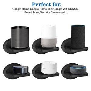 Image 3 - Montaggio a parete per Sonos Google Casa Google WiFi Telecamere di Sicurezza Supporto Bulit in di Gestione Dei Cavi Spazio Risparmio Energetico soluzione 2Pack