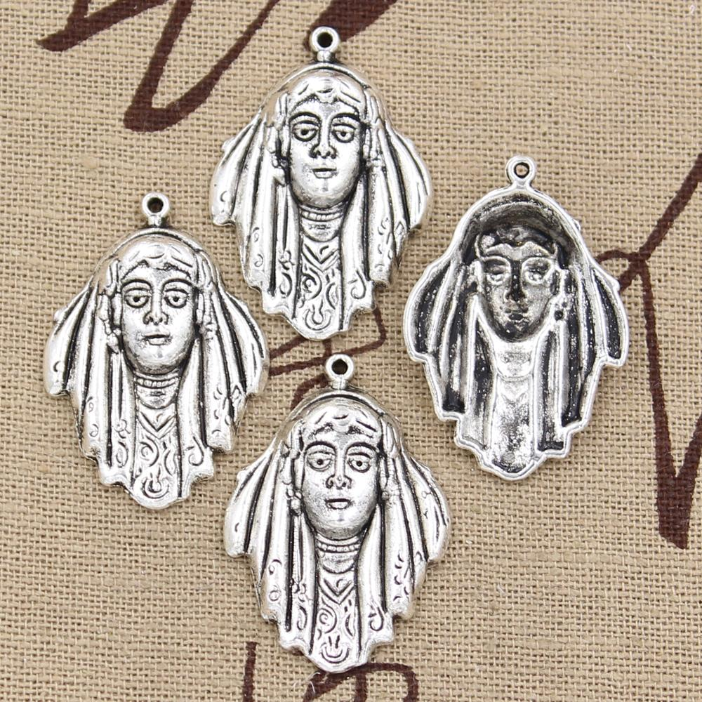 10pcs Charms Pirates of Caribbean 32*22mm Antique Silver Plated Pendants Making DIY Handmade Tibetan Silver Jewelry