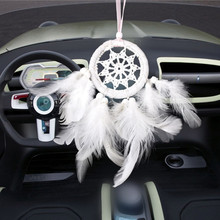 Car hanging decoration accessories dream catcher dromenvanger nordic decor manualidades carros auto products