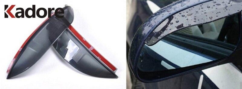 Для Volkswagen Tiguan 2009 2010 2011 2012 2013 Зеркало заднего вида для снега и дождя; зимние Щит гвардии Солнцезащитный козырек аксессуары