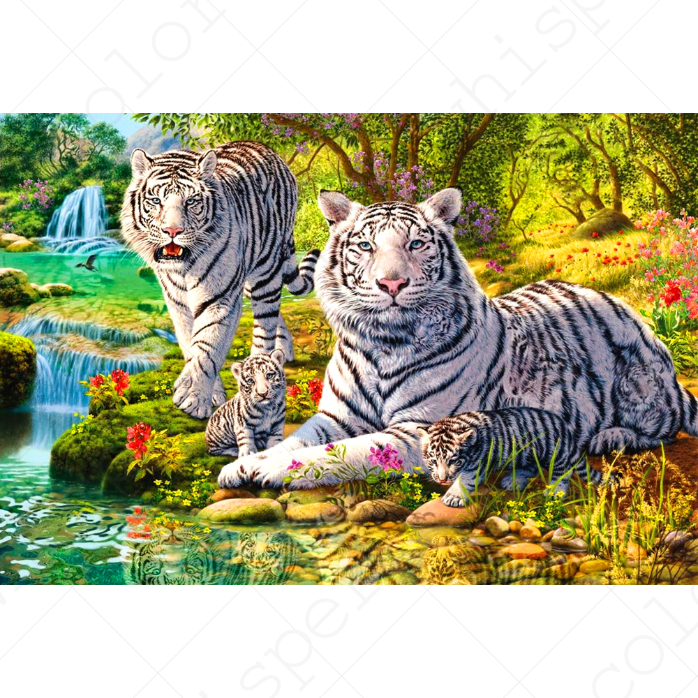 Full Square Drill 5d Diy Diamond Painting tiger Landscapedaimond Painting Embroidery Cross Stitch Mosaic Rhinestone Le01132 To Win A High Admiration And Is Widely Trusted At Home And Abroad. Needle Arts & Crafts Diamond Painting Cross Stitch