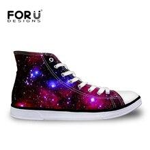 Forudesignsผู้ชายผู้หญิงรองเท้าผ้าใบสบายๆhightopบุรุษรองเท้ารองเท้านิ้วเท้ารอบหรูหราgalaxy starแฟลตรองเท้าz apatos h ombre