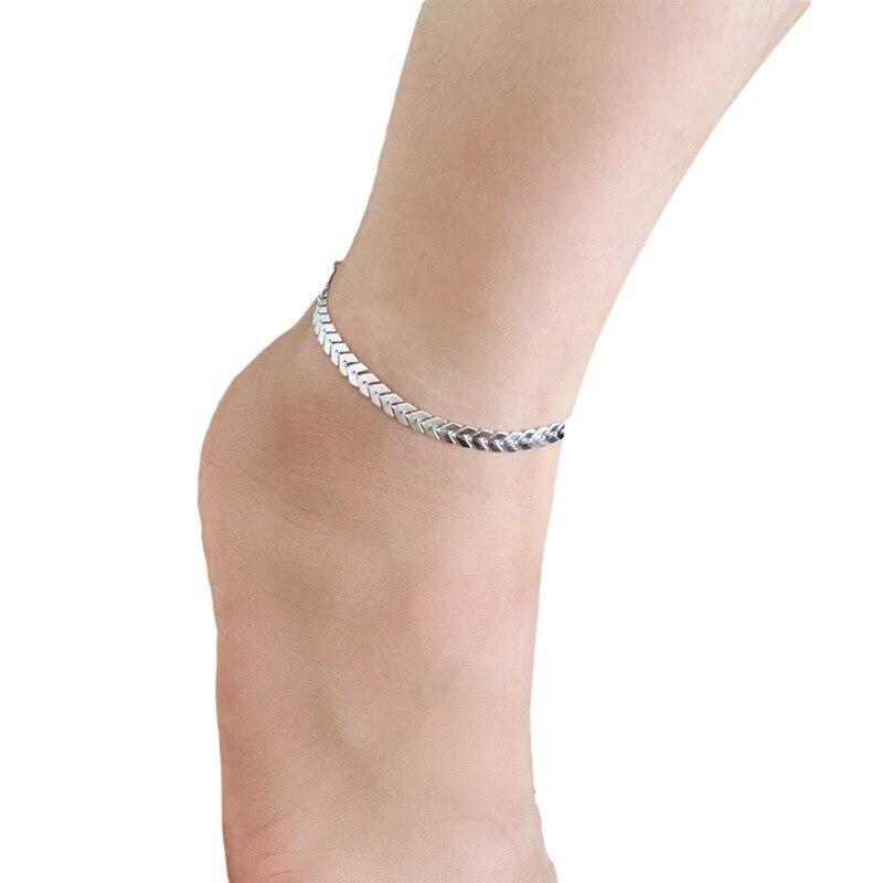 Foot Jewelry Delicate Metal Sequins Jadoku Anklet Arrow Factory Wholesale Ring Anklets For Women Enkelbandje