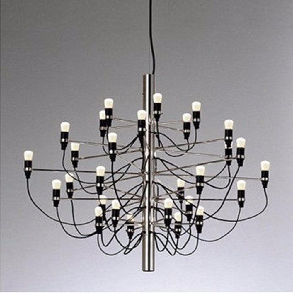 Lustre design moderne 30 ampoules lampe lumières lustre pendentif pour le salon salle à manger