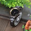 Часы BOBO BIRD LP16 женские  модные  деревянные  черные  женские аксессуары