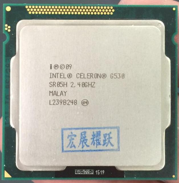 NEW DRIVERS: INTEL CELERON CPU 2.40GHZ