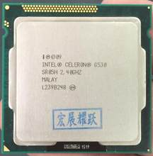 Intel Celeron G530 CPU 2M Cache, 2.40GHz LGA 1155 TDP 65W desktop processor PC computer Dual-Core CPU(China)